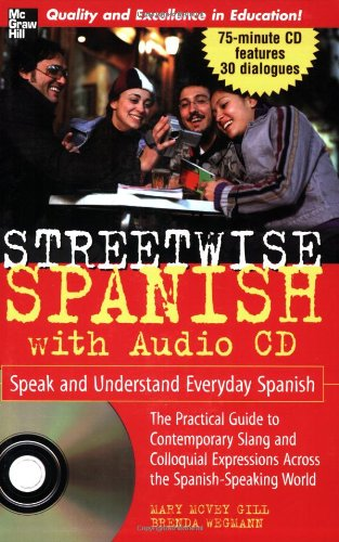 Streetwise Spanish Book 1CD Speak Understand ...