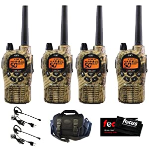 Midland GXT1050VP4 36-Mile 50-Channel FRS GMRS Two-Way Radio (Pair) (Camo) (2-Set) +... by Midland