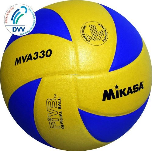 Volleyball MVA 330, DVV Blau/Gelb 5