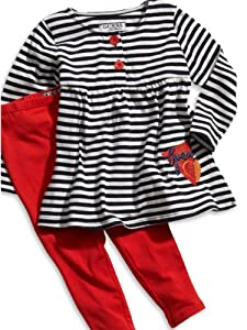 GUESS Kids Girls Toddler Striped Tunic and Leggings Set by GUESS Kids