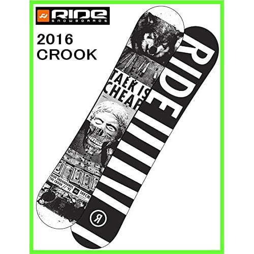 2015 RIDE CROOK 149cm ライドスノーボードバックワイルド ツインロッカーフリースタイルボード