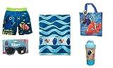 Finding Dory I Speak Whale Swim Trunks Beach Towel Sunglasses + Tote Bag (4T)