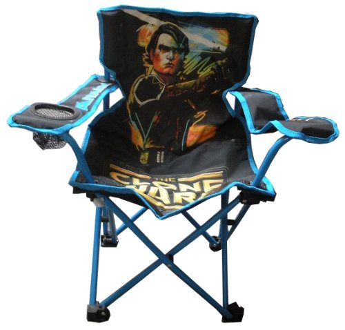 Star Wars the Clone Wars Folding Camp Chair u2013 Anakin : Play Equipment Outdoor