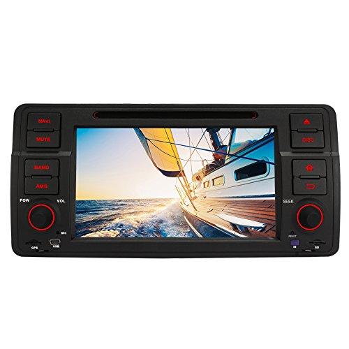PUMPKIN-Android-51-Lollipop-Quad-Core-7-Zoll-1-Din-Autoradio-Moniceiver-DVD-Receiver-fr-BMW-3er-E46-318-320-325-330-335-M3-1998-2006-Untersttzt-DAB-GPS-Navi-Bluetooth-Wifi-3G-Lenkradsteurung