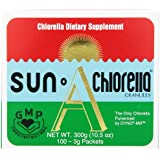 Sun Chlorella Nutritional Packets, 300 mg, 100 Count