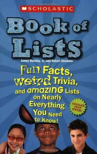 Scholastic Book Of Lists front-11376
