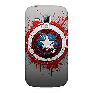 Impressive Bloodsheilds Back Case Cover for Galaxy S Duos