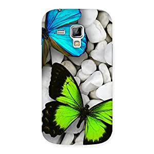 Gorgeous Premier Butterflies Multicolor Back Case Cover for Galaxy S Duos