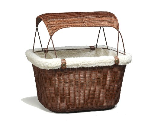 Review Solvit 62331 Tagalong Wicker Bicycle Basket