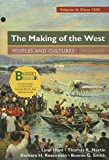 img - for Loose-leaf Version for The Making of the West, Volume 2: Since 1500 & LaunchPad for The Making of the West 5e (Six Month Access) book / textbook / text book