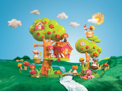 Imagen 6 de Lala Loopsy mini Casa del Árbol Playset