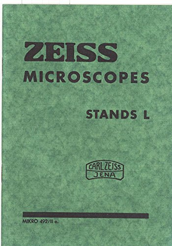 Zeiss Microscopes Stands L Pamphlet - Original Mikro 492/Iie