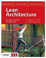 Lean Architecture: for Agile Software Development Front Cover