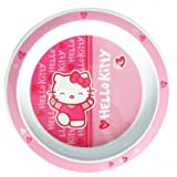Hello Kitty Pink and White Feeding Plate