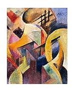 Especial Arte Lienzo Piccola composizione II - Mark Franz Multicolor