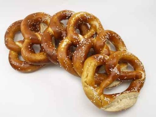 Food Wall Decals Pretzel - 30 Inches X 23 Inches - Peel And Stick Removable Graphic front-632291