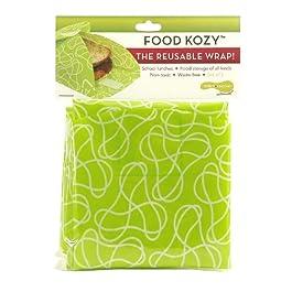 Ni-os Konserve KK068 Alimentos Kozy Wrap - Verde - Paquete de 2