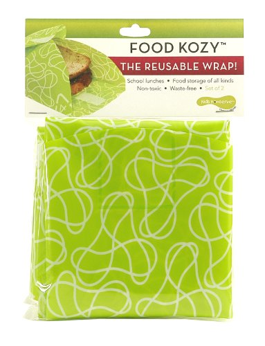 Kids Konserve KK068MC Green Food Kozy, 2-Pack
