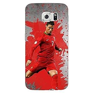Jugaaduu Cristiano Ronaldo Portugal Back Cover Case For Samsung S6