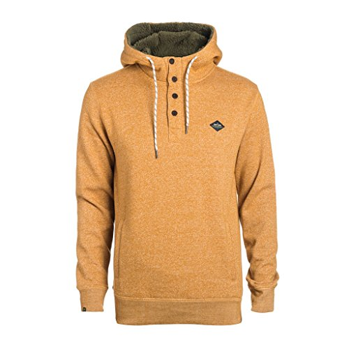 Rip Curl Dawn Patrol Hooded Felpa, Sudan Brown Mar, M