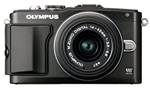 Olympus E-PL5 Interchangeable Lens Digital Camera with 14-42mm Lens (Black)