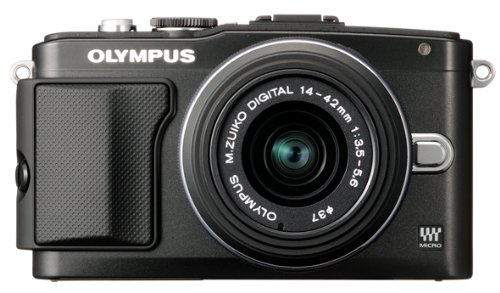Olympus E-PL5 Interchangeable Lens Digital Camera with 14-42mm Lens (Bla