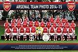 Arsenal アーセナル 2014-15モデル ポスター スカッド 52 / SP1173