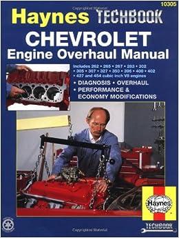 chevrolet engine overhaul manual haynes manuals john. Black Bedroom Furniture Sets. Home Design Ideas