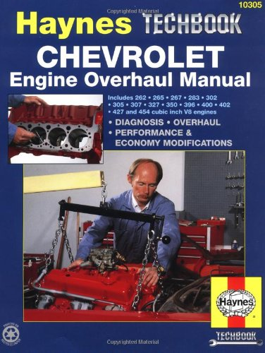 Chevrolet Engine Overhaul Manual (Haynes Techbook) front-371683