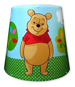 Disney, Winnie The Pooh, 100 Acre Wood, Tapered Bedroom Light Shade