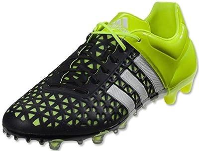 adidas ACE 15.1 FG/AG Soccer Cleats (Black, Solar Yellow)