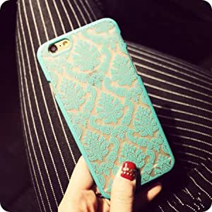 2016- New Arrivals Phone Case Back Cover for IPhone 6 Cases Damask Vintage Flower Pattern Luxury 4.7''inch