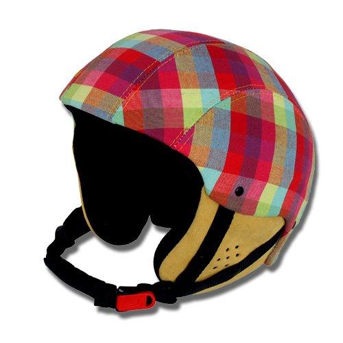 Bollé Damen Skihelm Snowboardhelm Ski Helm BLISS pink plaid, Gr.XS (54 cm)