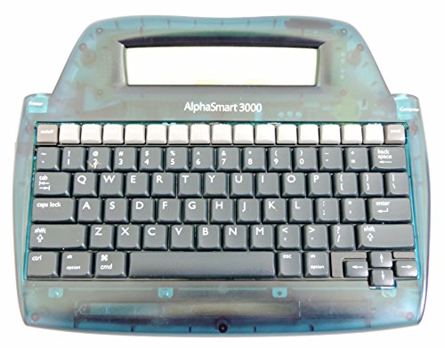 Alphasmart Alpha Smart 3000 Word Processing Computer Mac PC