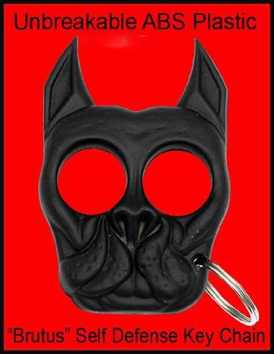 Brutus Bull dog Self Defense Keychain- Black