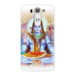 Shiv Blessings Back Case Cover for LG G3 Beat