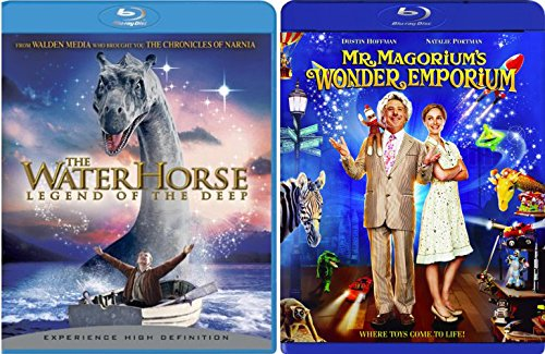 Mr. Magorium's Wonder Emporium & The Water Horse: Legend of the Deep Blu Ray Family Set