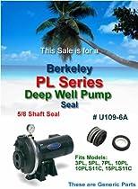Berkeley PL Series Deep Well Pump Shaft Seal U109-6A