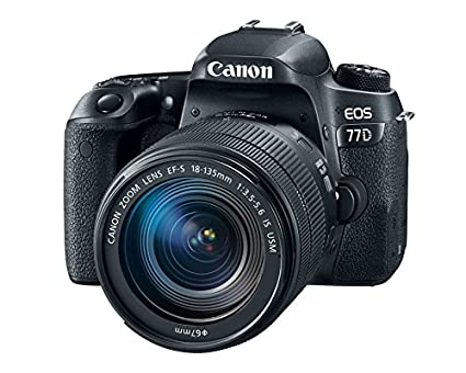 Canon EOS 77D DSLR (With 18-135mm USM Lens) Image