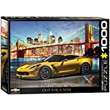 EuroGraphics 2015 Chevrolet Corvette Z06: Out for a Spin Jigsaw Puzzle (1000-Piece)