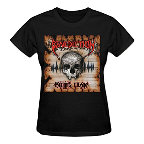 Benediction Killing Music T Shirt For Women