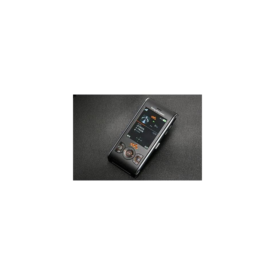 Sony ericsson W595 Lava Black Unlocked GSM Phone