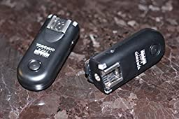 Yongnuo Upgrade RF-603 II C3/C1 3in1 2.4GHz Wireless Flash Trigger/Wireless Shutter Release Transceiver Kit for Canon 60D/550D/500D/1000D/450D/400D/350D/300D Series