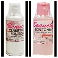 2 (Pack) Beauche ~ Clarifying Solution & Skin Toner