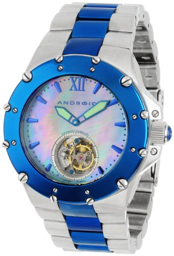 Android Unisex AD636BBU Divemaster Enforcer 45 Automatic Tourbillon Stainless Steel Watch - 51Sk78XVTfL - Android Unisex AD636BBU Divemaster Enforcer 45 Automatic Tourbillon Stainless Steel Watch