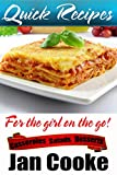 img - for Easy Recipes for the Girl on the Go: Casseroles. Salads and Desserts book / textbook / text book
