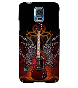 ColourCraft Guitar Back Case Cover for SAMSUNG GALAXY S5 NEO