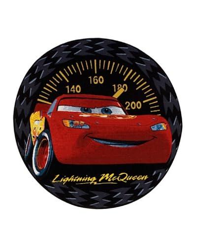 Disney Teppich Cars Speed Rug schwarzrot 133 x 133 cm