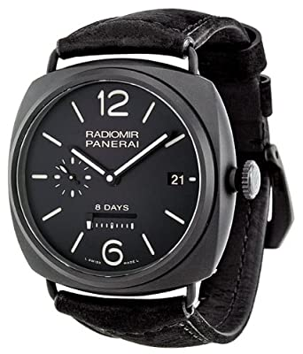 Panerai Men's PAM00384 Radiomir Analog Display Swiss Automatic Black Watch