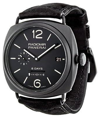 Panerai Radiomir 8 Days Black Dial Automatic Mens Watch PAM00384 by Panerai